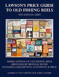 Lawson's Price Guide to Old Fishing Reels